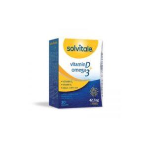 Solvitale D + Omega 3