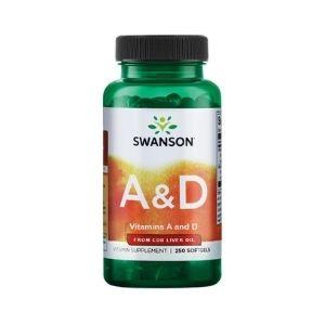 Cod Liver Oil & Vitamin AD
