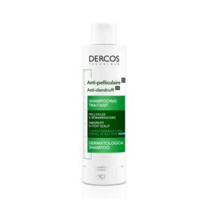 Vichy Dercos Anti-Dandruff Shampoo for Normal to Oily Hair 200 ml