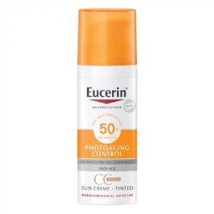 Eucerin Sun Crème Teinted Photoaging Control Spf 50+ Medium