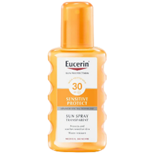 Eucerin Sun Spray Transparent Protect 30+