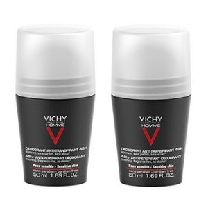 Vichy Homme Men's Deodorant Promo 1+1