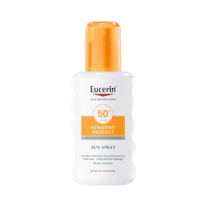 Eucerin Sun Spray Transparent Protect 50+
